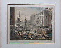 Billingsgate Market. by ACKERMANN, R[udolph].