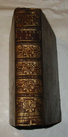 A Critical Dissertation on the Book of Job by PETERS, Charles.