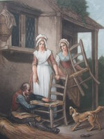 Old Chairs to Mend. by WHEATLEY, F. & APPLETON, Thomas, G.