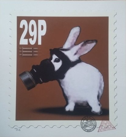 Animal Day - 29p stamp. by CAUTY, James.