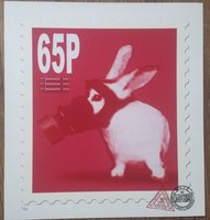 Animal Day - 65p stamp. by CAUTY, James.