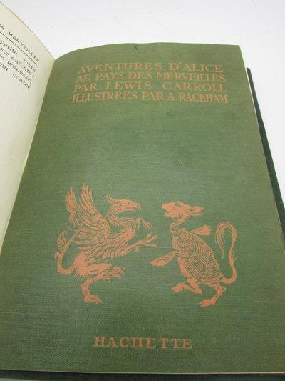Aventures D'Alice Au Pays Des Merveilles by CARROLL, Lewis. [Dodgson, Charles, L].