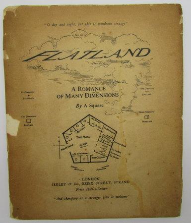Flatland by A SQUARE [Abbott, Edwin, A].