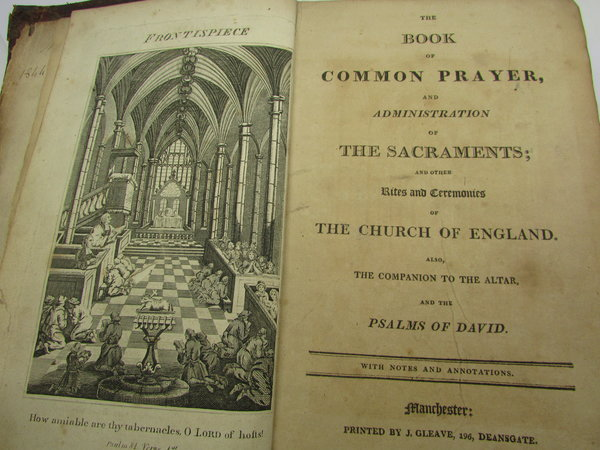 The Book of Common Prayer, and Administration of the Sacraments; and other Rites and Customs of the Church of England. by [ANON]