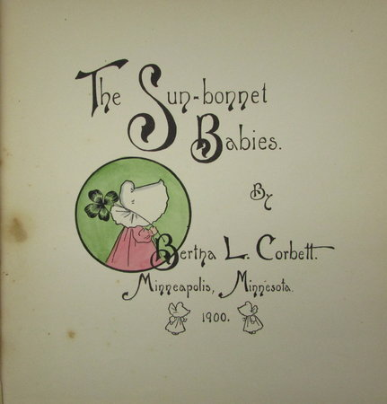 The Sun Bonnet Babies by CORBETT, Bertha L.