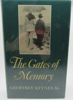 The Gates of Memory. by KEYNES, Geoffrey.