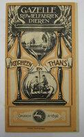 1920's Gazelle Rijwielfabriek Advertising by VLAANDEREN, André