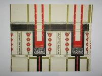 Original artwork for Van Nelle's Varinas Rotterdam Tobacco Packaging by JONGERT, Jacob