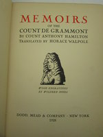 Memoirs of the Count De Grammont by HAMILTON, Anthony [Antoine]