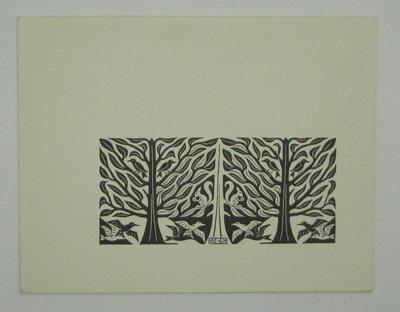 Trees & Animals by ESCHER, M.C.
