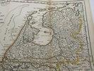 Another image of Kaart van het gebied in het noorden van Nederland getroffen door de overstromingen in 1825 by MAASKAMP, E