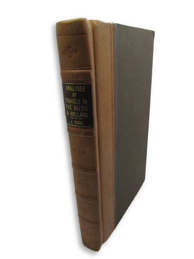 Analyses of New Voyages and Travels, lately published in London by CARR, John.