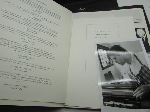Thornwillow Press Catalogue by PONTIFELL, Luke Ives