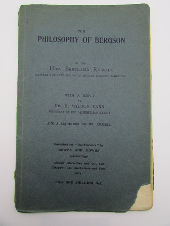 The Philosophy of Bergson by RUSSELL, Bertrand