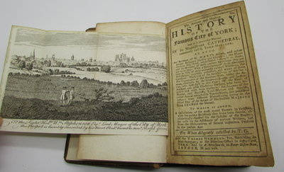 The Antient and Modern History of the Famous City of York; and in a Particular Manner Of its Magnificent Cathedral, commonly call'd York Minster by T. G. [GENT, Thomas]