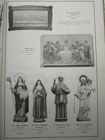 Catalogo General de Imagenes Talleres de Imagineria Religiosa El Sagrado Corazon by MATO, Anonima