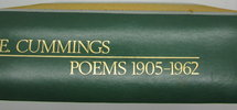 Another image of Poems 1905-1962 by CUMMINGS, E.E. [Edward Estlin]