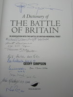 A Dictionary of The Battle of Britain by SIMPSON, Geoff