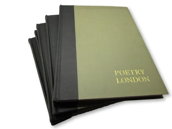 English Little Magazines No 12: Poetry London - Reprinted in Five Volumes by [ANON]