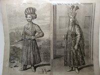 Engraving from 'Voyages par la Moscovie, en Perse, et aux Indes Orientales'. by LE BRUYN, Cornelius