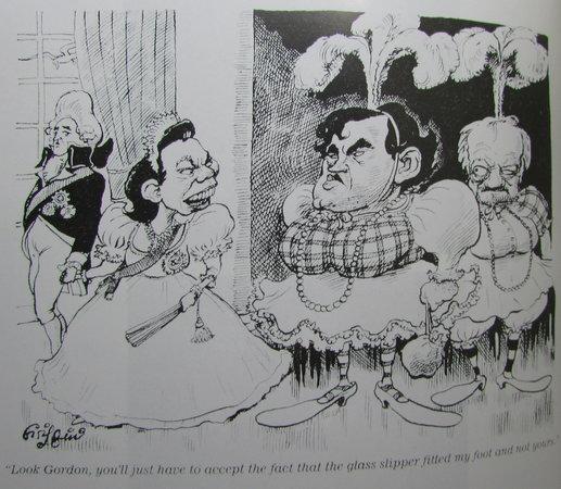 Gordon Brown by BOWER, Tom