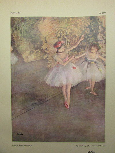 The Life and Work of Edgar Degas by MANSON, J B
