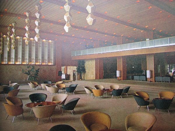 The Indigenous Patterns and Hotel Okura by NODA, Iwajiro
