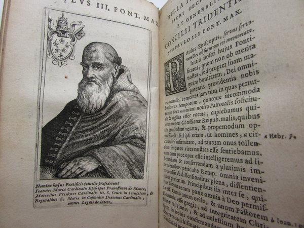 Sacrosancti et Oecumenici Concilii Tridentini Paulo III, Iulio III et Pio IV, PP. MM by [ANON]