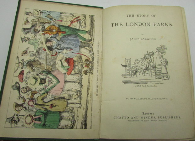 The Story of the London Parks by LARWOOD, Jacob
