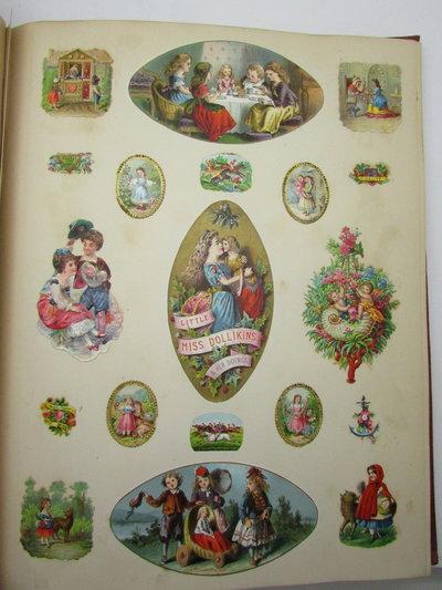 Victorian Scrap Album by [ANON]
