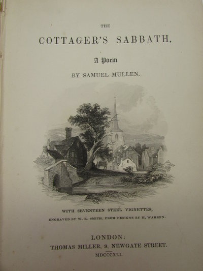 The Cottager's Sabbath, A Poem by MULLEN, Samuel