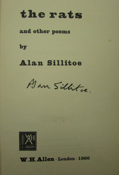 The Rats & other poems by SILLITOE, Alan