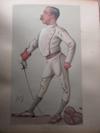 An album of 44 lithographs and biographies by VANITY FAIR