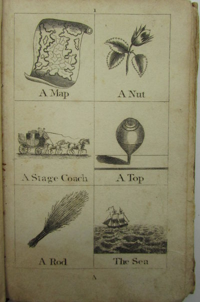 Mrs Lovechild's Book of Two Hundred and Sixteen Cuts designed to teach Children the Names of Things by FENN, Late Lady
