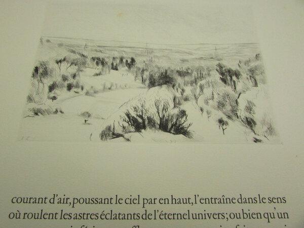 De la nature. Avec 41 eaux-fortes originales de Léopold-Lévy (De Rerum Natura) by LUCRÈCE