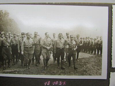 German Photograph Album including early Hitler & Nazi Rally by [ANON]