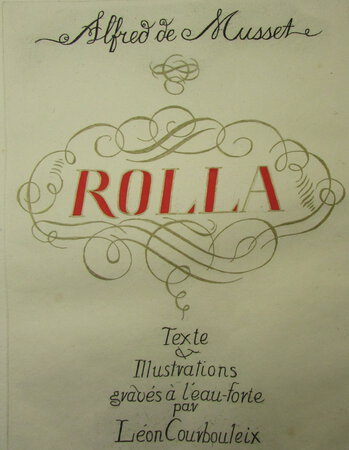 Rolla by MUSSET, Alfred de