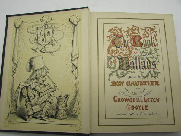 The Book Of Ballads. A New Edition with Several New Ballads by DOYLE, Richard