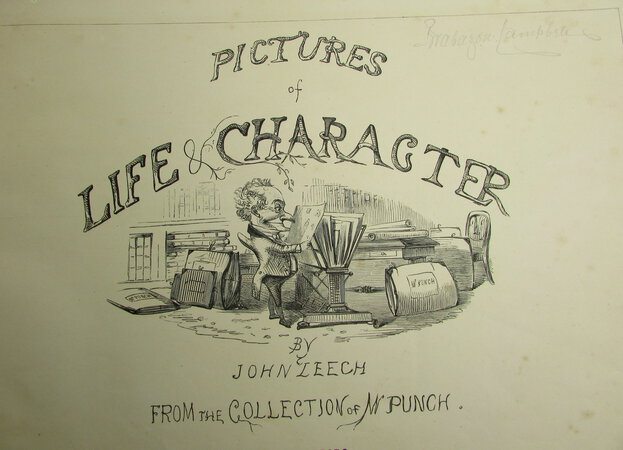 Pictures of Life and Character from the Collection of Punch by LEECH, John