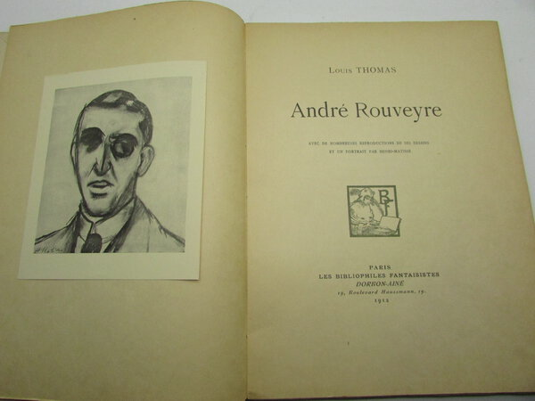 Andre Rouveyre by THOMAS, Louis