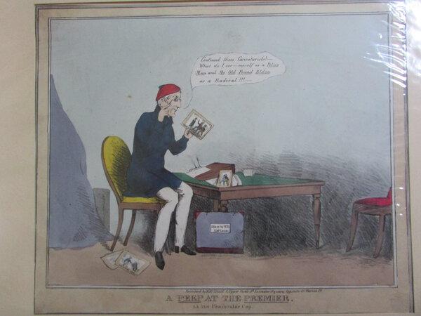 A Peep at the Premier by H.B. [John Doyle]