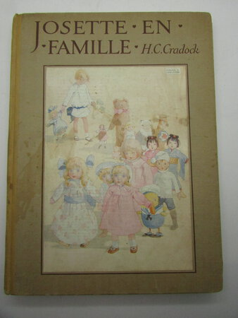 Josette en Famille adapte de L'Anglais par Gisele Vallerey illustre par HONOR C. APPLETON by CRADOCK, Mrs H. C.