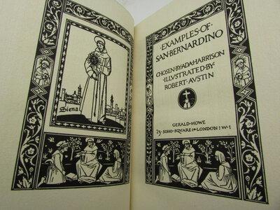 Examples of San Bernardino of Siena by AUSTIN, Robert