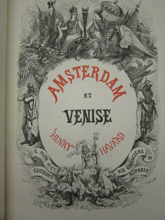 Amsterdam et Venise by HAVARD, Henry