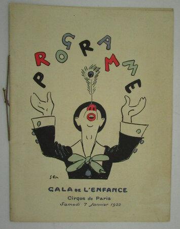 Programme Gala de l'Enfance - Cirque de Paris by SEM, Georges Goursat