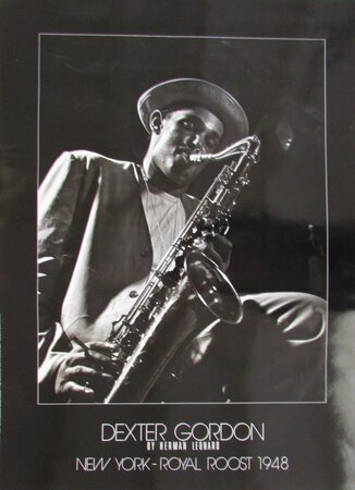 Dexter Gordon. New York - Royal Roost 1948 by LEONARD, Herman.