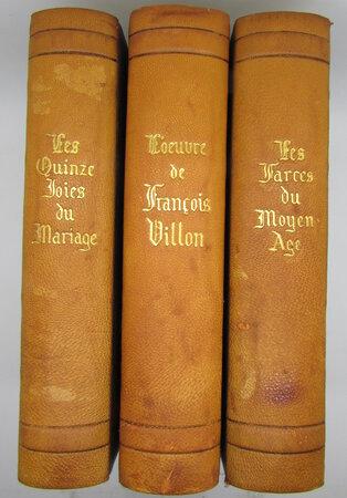 L'Oeuvre de François Villon / Farce du Moyen Âge / Les Quinze Joies de Mariage by VILLON, François