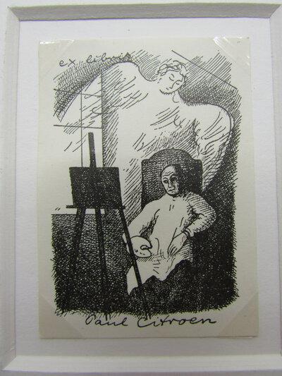 Ex-libris of Paul Citroen by CITROEN, Paul