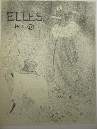Elles by TOULOUSE-LAUTREC, Henri de