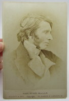 Albumen Photograph of John Ruskin by RUSKIN, John.